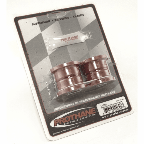 ( 1-1204 ) Red Polyurethane Track Arm Bushing Kit for Jeep 1993-98 ZJ Grand Cherokee, Rear by Prothane