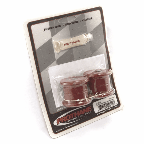 ( 1-1206 ) Red Polyurethane Track Arm Bushing Kit for Jeep 1997-06 Wrangler, Rear by Prothane