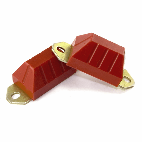 ( 1-1301 ) Red Polyurethane Axle Bump Stop Set for Jeep 1976-95 CJ & Wrangler��� by Prothane