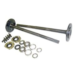One Piece Axle Shaft Kit For 1976-83 Jeep CJ-5 & 1976-81 CJ-7 with Model 20 Rear Axle