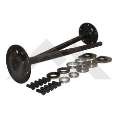 (1) One Piece Axle Shaft Kit For 82-86 Jeep CJ-7 & CJ-8 with Model 20 Rear Axle