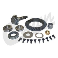 1) Ring & Pinion, 3.07 Ratio, 2000 Jeep Cherokee WJ, 1997-2000 Wrangler w/ Model 30 Front Axle