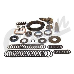 1) Ring & Pinion Kit, 3.73 Ratio, 1984-1999 Cherokee, 1987-1995 Wrangler w/ Dana 30 Front Axle