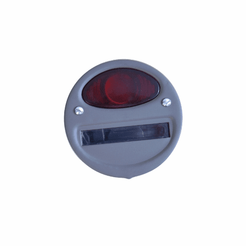 ( 1064M100 ) Tail Light Assembly, Left Side Service, 6 Volt, Fits WWII 1/4 Ton, M100 Trailer by Preferred Vendor