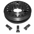 11) 1st & Reverse Gear Synchronizer Assembly, fits 1967-75 Jeep CJ with T14A 3 Speed Transmission