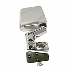 ( 1101006 ) Door Mirror, Chrome, Right Side, 87-02 Jeep Wrangler by Rugged Ridge