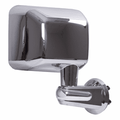 ( 1101012 ) Door Mirror, Chrome, Right Side, 07-18 Jeep Wrangler by Rugged Ridge
