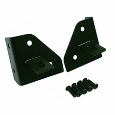( 1102701 ) Windshield Light Mounting Brackets, 76-95 Jeep CJ and Wrangler by Rugged Ridge