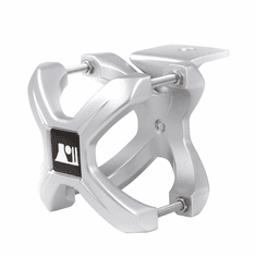 ( 1103110 ) Silver X-Clamp, Single, 1.25-2.0 Inches by Rugged Ridge