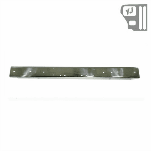 ( 1110704 ) Stainless Steel Front Bumper, 87-95 Jeep Wrangler by Rugged Ridge