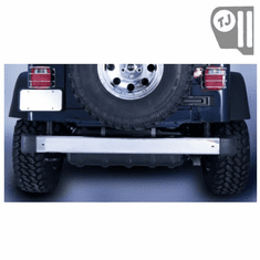 ( 1110706 ) Rear Bumper, Stainless Steel, 97-06 Jeep Wrangler by Rugged Ridge