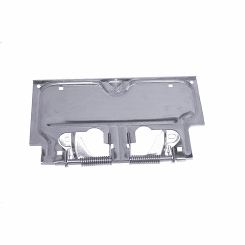 ( 1113602 ) License Plate Bracket, Stainless Steel, 76-86 Jeep CJ Models by Rugged Ridge