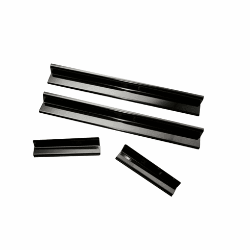 ( 1121611 ) Door Entry Guard Set, Black, 07-18 Jeep Wrangler Unlimited by Rugged Ridge