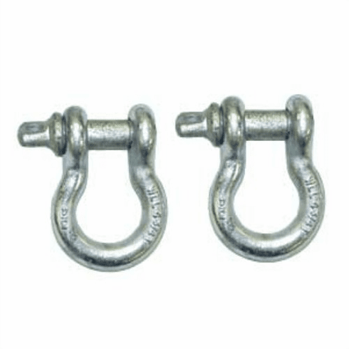 ( 1123501 ) 3/4-Inch D-Shackle Set by Rugged Ridge