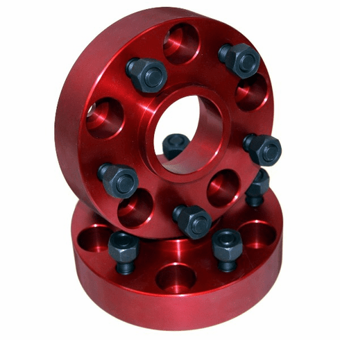 ( 11301 ) Wheel Spacers, 1.25-Inch Thick, fits 1984-2006 Jeep Cherokee and Wrangler by Alloy USA