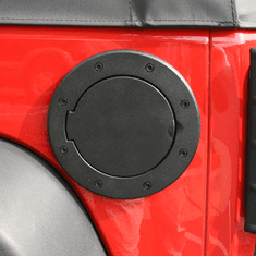 ( 1142505 ) Non-Locking Gas Cap Door, Black, 07-18 Jeep Wrangler by Rugged Ridge