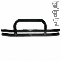 ( 1150201 ) 3-Inch Double Tube Front Bumper, 87-06 Jeep Wrangler by Rugged Ridge