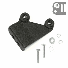 ( 1150389 ) CB Antenna Mount from Rugged Ridge fits the Stock Spare Tire Carrier on 2007-18 Jeep Wrangler