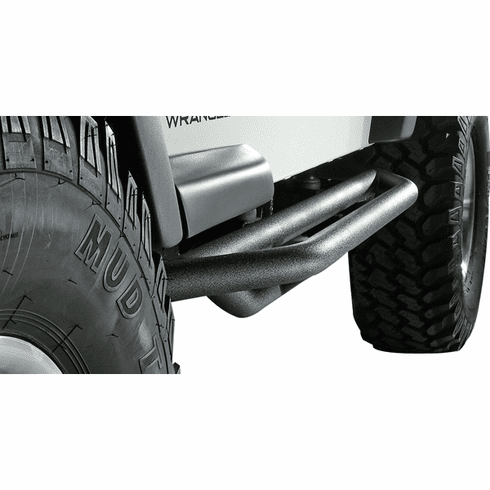 ( 1150413 ) RRC Side Armor Guards, 87-06 Jeep Wrangler by Rugged Ridge