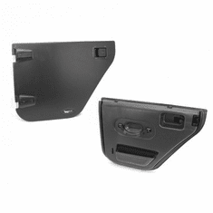 ( 1150902 ) Half Doors, Rear, 07-18 Jeep Wrangler by Rugged Ridge
