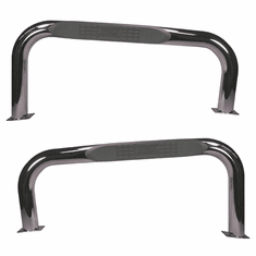 ( 1152202 ) Nerf Bars, Stainless Steel, 76-83 Jeep CJ Models by Rugged Ridge