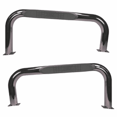 ( 1152203 ) Nerf Bars, Stainless Steel, 76-86 Jeep CJ Models by Rugged Ridge