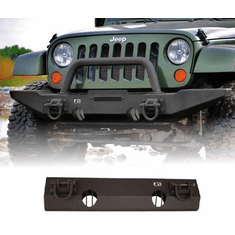 ( 1154011 ) XHD Non-Winch Mount Front Bumper, 07-18 Jeep Wrangler by Rugged Ridge