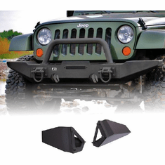 ( 1154012 ) Standard Bumper Ends, XHD Modular Front Bumper by Rugged Ridge