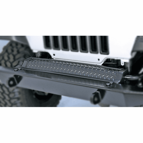 ( 1165010 ) Front Frame Cover, Body Armor, 97-06 Jeep Wrangler by Rugged Ridge