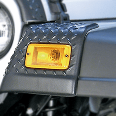 ( 1165020 ) Front Fender Guards, Body Armor, 97-06 Jeep Wrangler by Rugged Ridge