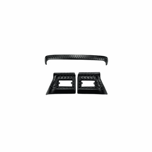 ( 1165052 ) 3 Piece Body Armor Kit, 97-06 Jeep Wrangler by Rugged Ridge
