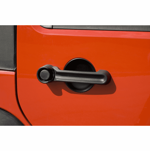 ( 1165125 ) Door Handle Recess Guard Kit, 07-18 Jeep Wrangler by Rugged Ridge