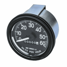 ( 118101 ) Complete Speedometer Assembly 0-60 MPH Fits 1950-1966 Jeep M38, M38A1 by Preferred Vendor