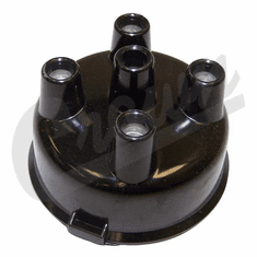 ( 118343 ) Distributor Cap for IAT, IAY, Distributors, fits 1950-1971 Jeep & Willys w/ 4-134 F-Head Engine by Crown Automotive