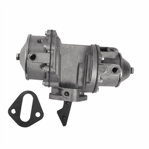 ( 119729 ) New Replacement Fuel Pump with Vacuum, fits 1949-1963 CJ3A, Truck, Wagon, Jeepster with 4-134 4 Cyl. Engine by Omix-Ada