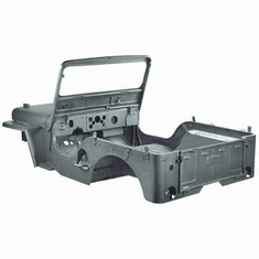 ( 1200105 ) Steel Body Kit for 1950-1952 M38, Body With Fenders, Hood, Windshield, and Tailgate by Omix-Ada