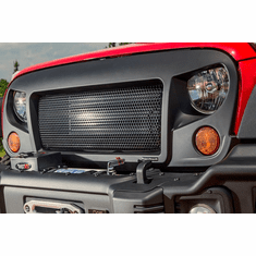 ( 1203401 ) Spartan Grille, 07-18 Jeep Wrangler JK by Rugged Ridge