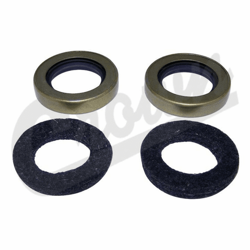 ( 120751) Oil Seal and Felt Kit for Output Shaft, 2 Seals & 2 Felts, fits 1946-71 Jeep & Willys with Dana Spicer 18 Transfer Case by Crown Automotive