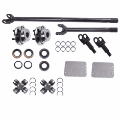 ( 12231 ) Front Axle Kit, 1987-95 Jeep Wrangler (YJ), 1984-91 Cherokee (XJ), Dana 30 Grande 30/30-Spline Kit (30-Spline Inners & Outers) by Alloy USA