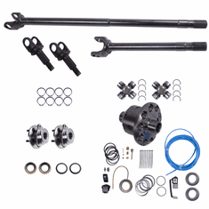 ( 12232-ARB ) Front Axle Kit, 1997-06 Jeep Wrangler (TJ), 1992-01 Cherokee (XJ), Dana 30 Grande 30/30-Spline Kit w/ ARB Locker (30-Spline Inners & Outers) by Alloy USA