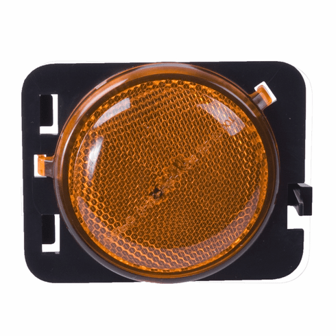 ( 1240125 ) LH Side Marker Light Amber, 07-18 Jeep Wrangler by Omix-ADA