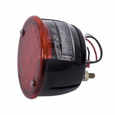 ( 1240381 ) LED Tail Light Assembly, Left Side, 46-75 Willys and Jeep CJ Models by Rugged Ridge