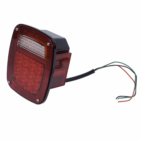 ( 1240382 ) LED Tail Light Assembly, Right Side, 76-06 Jeep CJ and Wrangler by Rugged Ridge