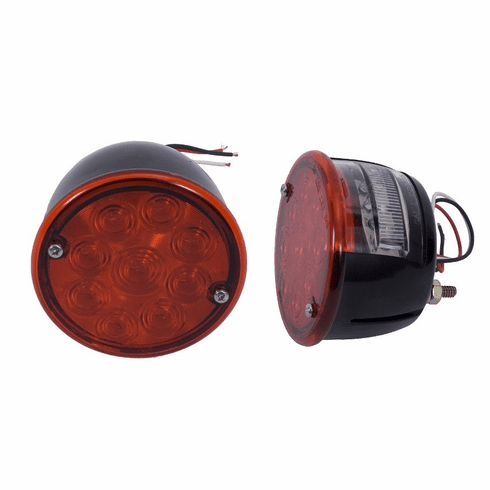 ( 1240384 ) LED Tail Light Set, 46-75 Willys and Jeep CJ Models by Rugged Ridge