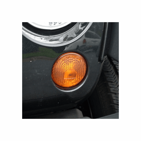 ( 1240524 ) Right Park Lamp Amber, 07-18 Jeep Wrangler by Omix-ADA