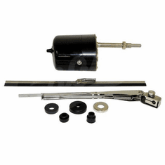 ( 12V ) Wiper Motor Kit, 12 Volt, Universal Application, 1941-1968 MB, GPW, CJ2A, CJ3A, DJ3A, CJ3B, CJ5, CJ6 by Crown Automotive