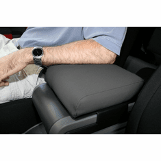 ( 1310709 ) Neoprene Arm Rest Cover, Black with Gray, 07-10 Jeep Wrangler by Rugged Ridge