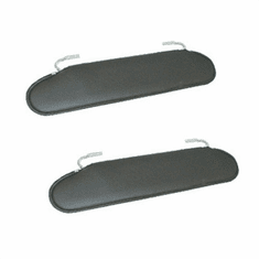 ( 1330115 ) Replacement Sun Visors, 72-86 Jeep CJ models by Rugged Ridge