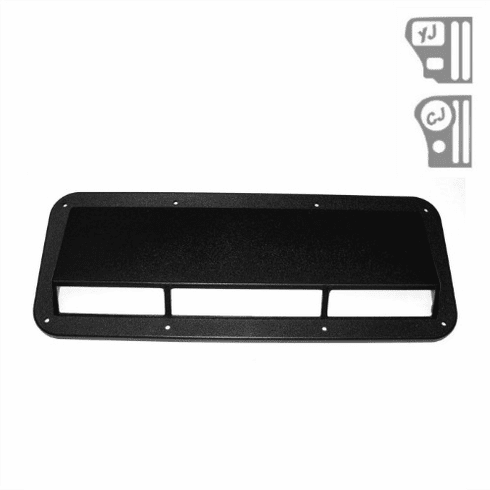 ( 1330701 ) Ram Air Induction Scoop, 78-95 Jeep CJ and Wrangler by Rugged Ridge