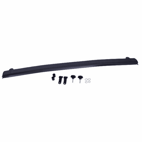 ( 1330805 ) Front Windshield Header, Aluminum, 07-18 Jeep Wrangler by Rugged Ridge